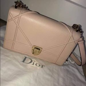 Christian Dior Dorama medium dusty pink bag